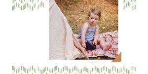 Jesienna sesja urodzinowa dwulatki – zobacz przykładowy projekt fotoalbumu. Rewelacyjny pomysł na prezent!