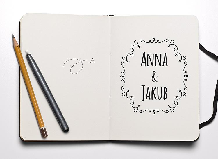logo_zaproszenie_ślubne_oryginalne_nietypowe_kraków