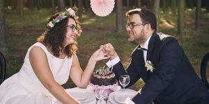 Romantyczny plener ślubny jak z bajki – M&M.