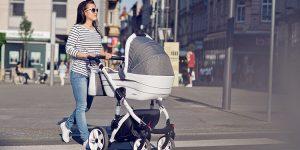 Sesja produktów Coneco – wózki dziecięce – fotografie z przeznaczeniem na stronę www